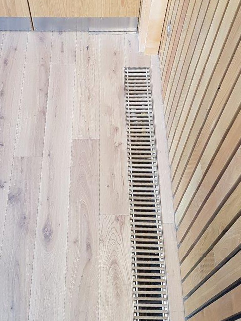 Dunham-Bush Wood Finish Trench Heating